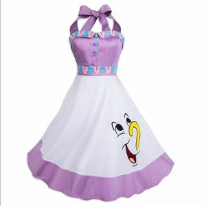 Disney Parks Mrs Potts Chip Dress Medium NWT